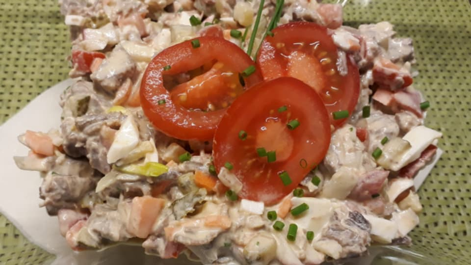 Salata da charn buglida per in di da stad chaud.