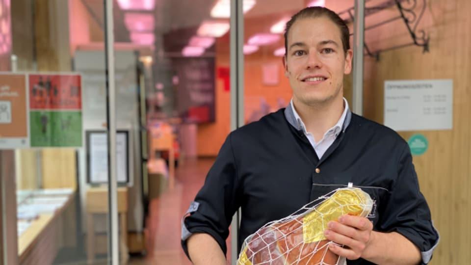 David Steier da Savognin nizzegia las schanzas per innovar.