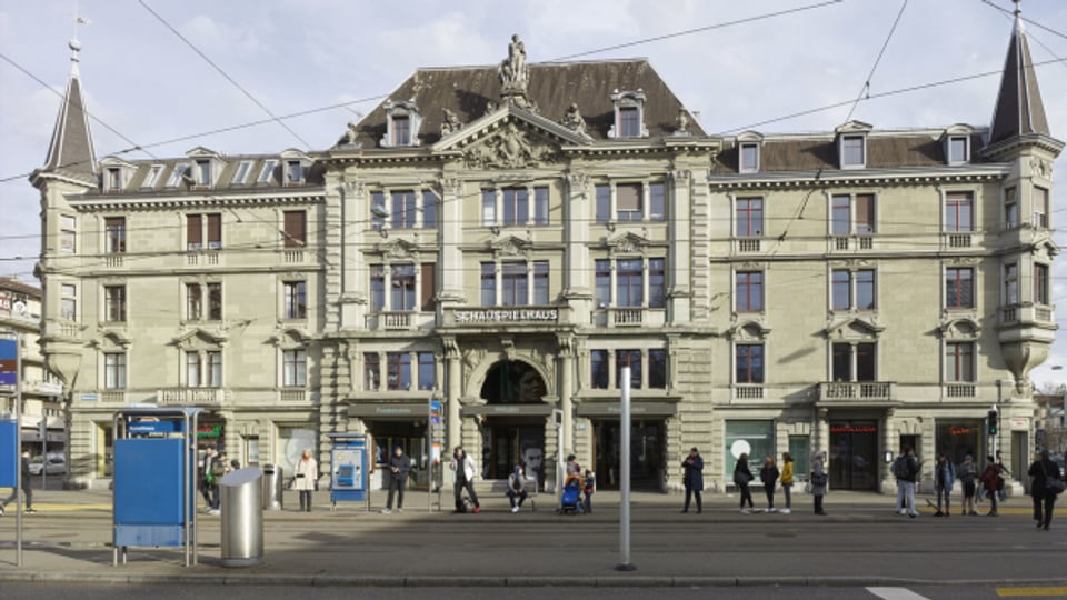 Il «Pfauen» al Kunsthausplatz a Turitg.