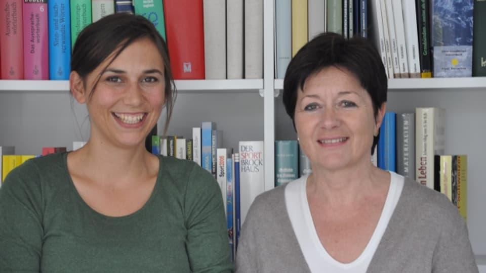 En lur ultim Forum discurran Silvana Derungs ed Anna-Alice Dazzi tranter auter dal prender cumià a la franzosa.