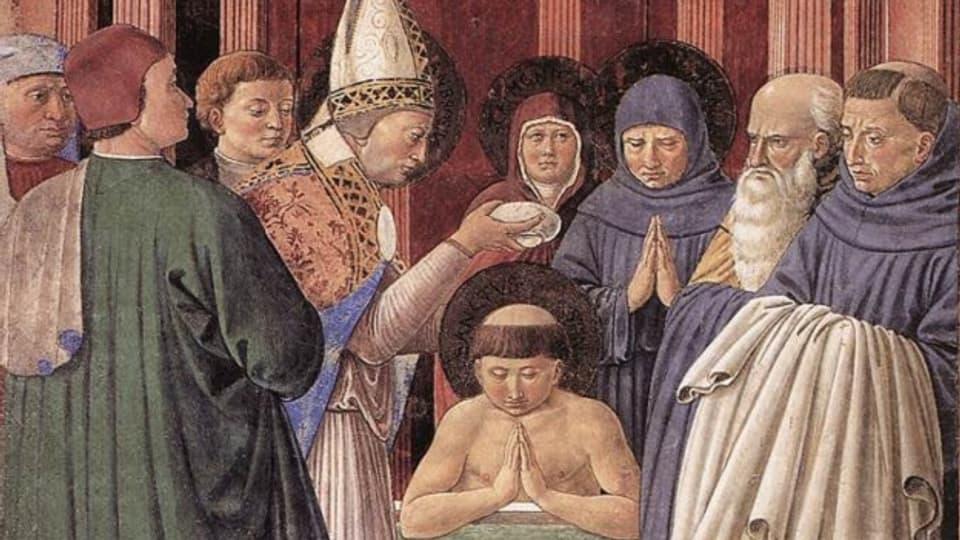 Sontg Ambrosi battegia Sontg Augustin