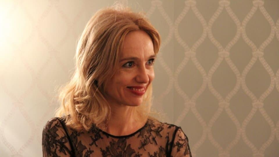 L'actura da film e teater Ursina Lardi vegn onurada quest onn als Dis da film a Solothurn.