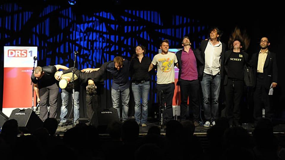 Das Finale der Mundartnacht 2012 in Solothurn.