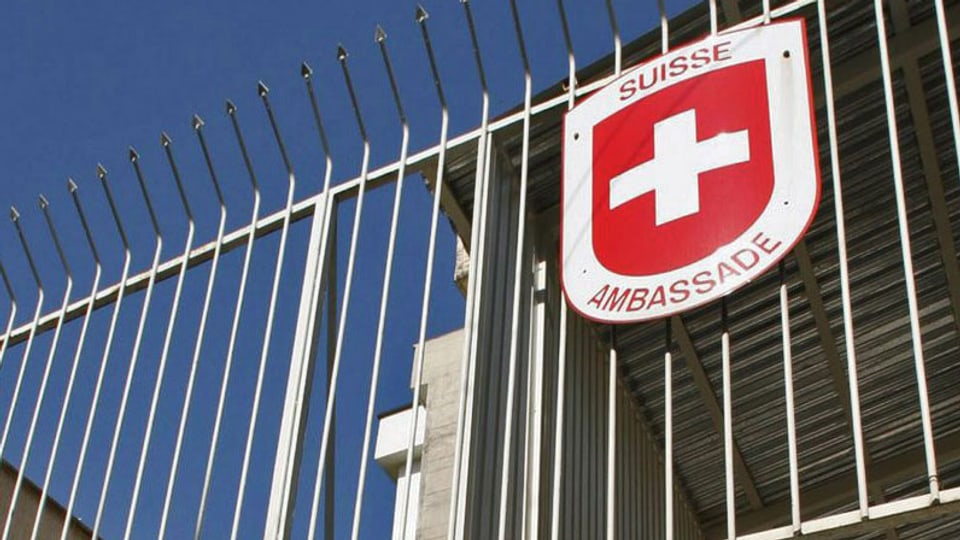 Schweizer Botschaft in Teheran