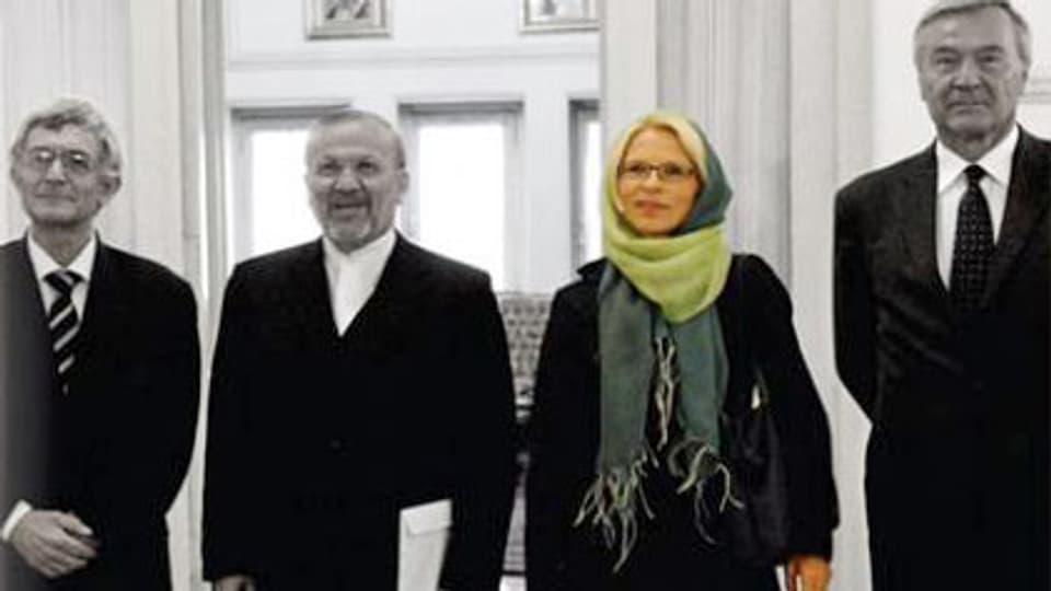 Livia Leu. Schweizer Botschafterin in Teheran am 9.9.2009