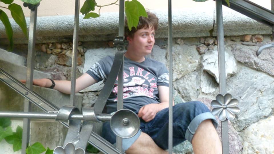 «Hätte er Durst, würde er aus einer Pfütze trinken»: David (21) ist Autist.