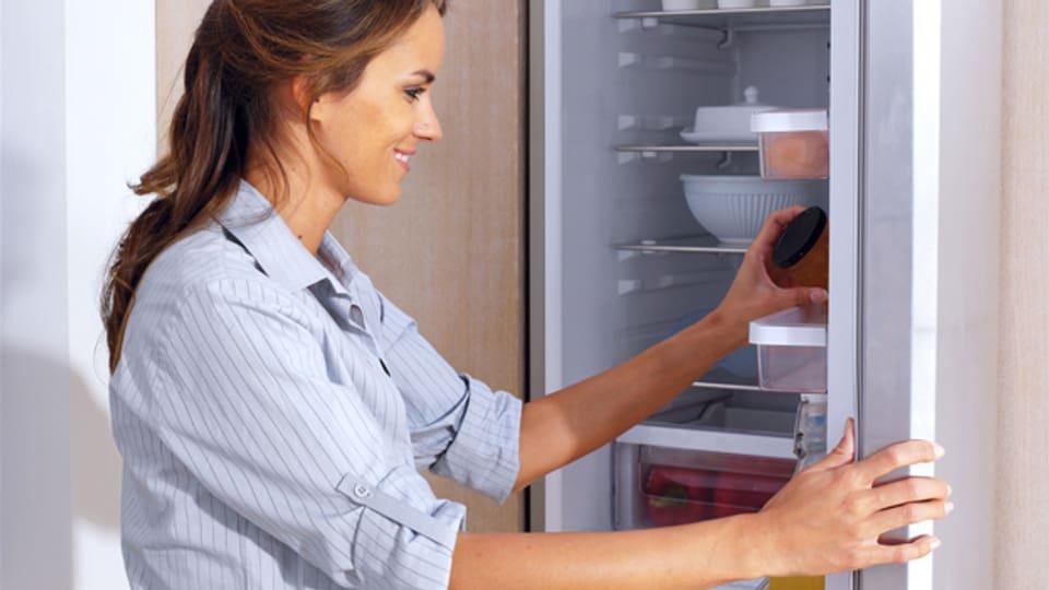 Ein kurzer Blick in den Kühlschrank: Was lässt sich aus dem Inhalt kochen?