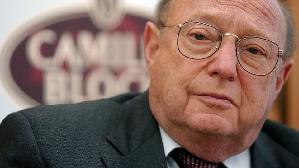 Er war das Musterbeispiel für gelebte Toleranz: Rolf Bloch.