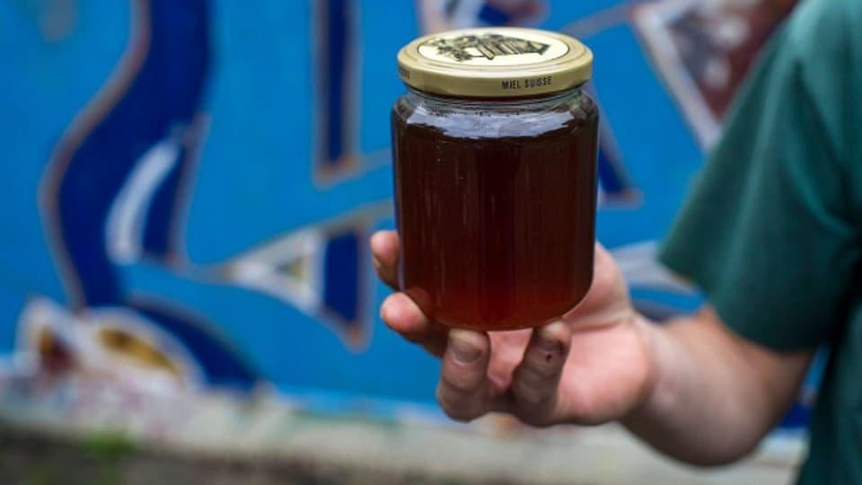 Honig aus Lausanne: Die Westschweizer Stadt produziert ihren eigenen Honig.