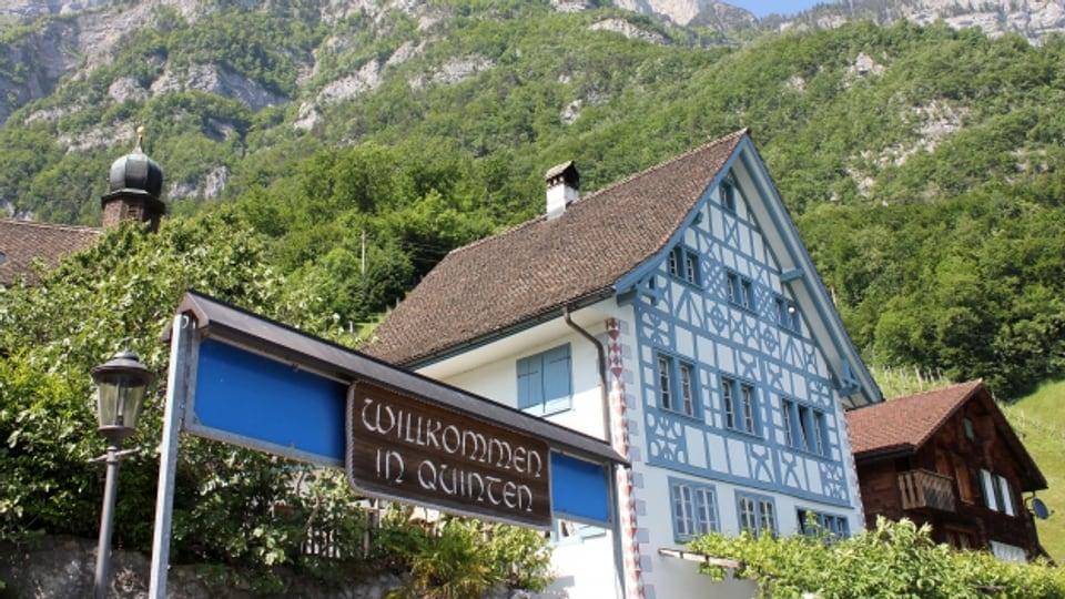 «Riviera der Schweiz»: Das Dorf Quinten.