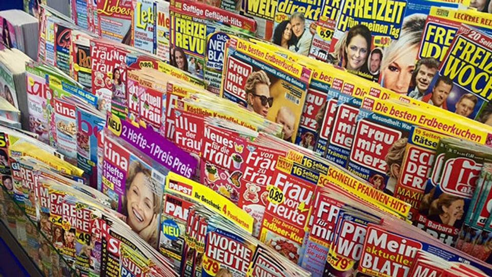 Regenbogenpresse: Wenn sich Schlagzeilen in Luft auflösen.