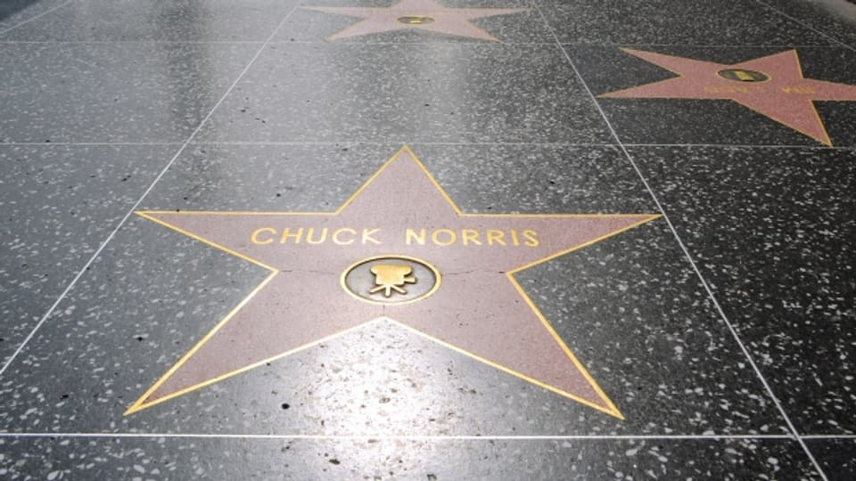 Es muss ja nicht gerade Chuck Norris sein.