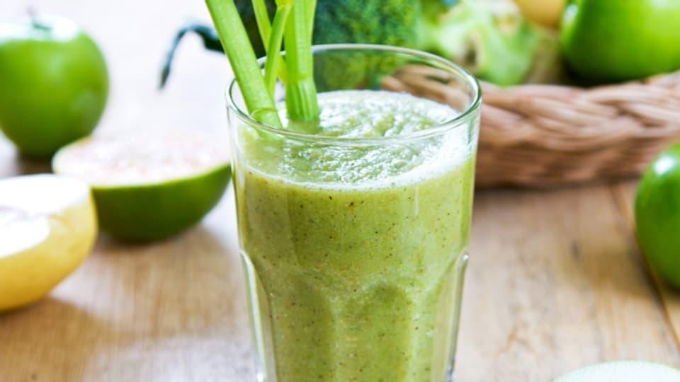 Grün und gesund: Green Smoothies sind leicht bekömmlich.