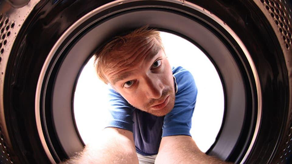 Waschmachine richtig reinigen.
