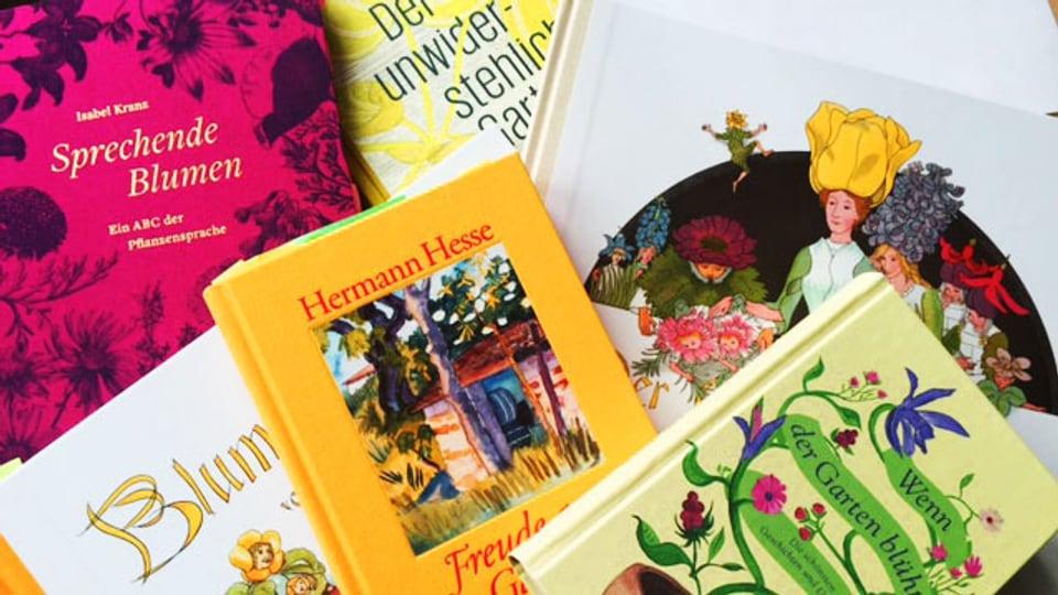 Bücher für Gartenliebhaber (Bild: privat)