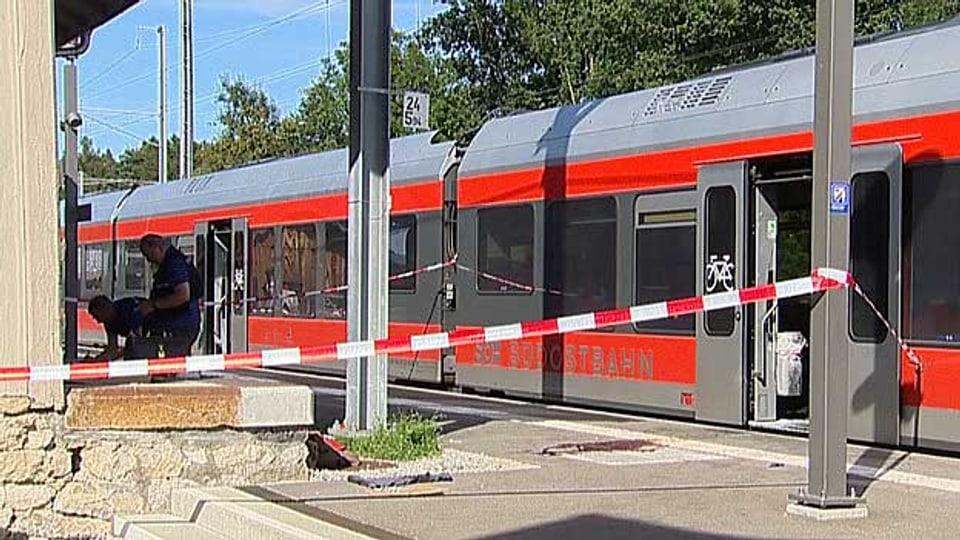 Ein 27-jähriger Schweizer hat letzten Samstag in einem Regionalzug im St.Gallischen Rheintal Passagiere attackiert.