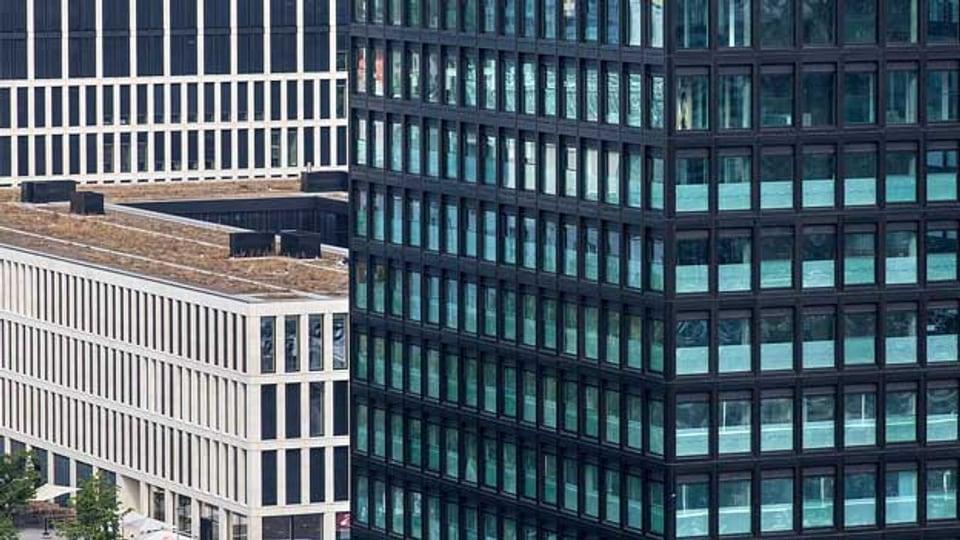 Grosse Wohn- und Geschäftsgebäude: Das Stadtbild von Zug hat sich in den letzten Jahren stark verändert.