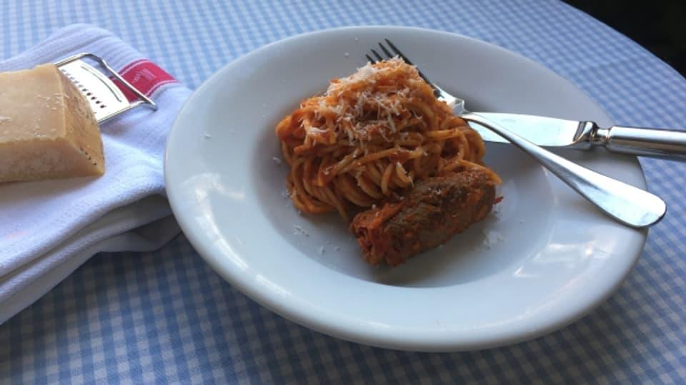 Brasciole al pomodoro: feines Schmorgericht für kalte Tage.