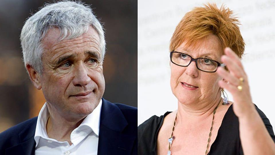 Gäste im «Persönlich»: Hanspeter Latour und Cécile Bühlmann