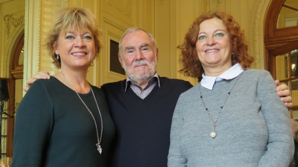 V.l.n.r. Daniela Lager, Peter Oppliger, Claudia Aragao.