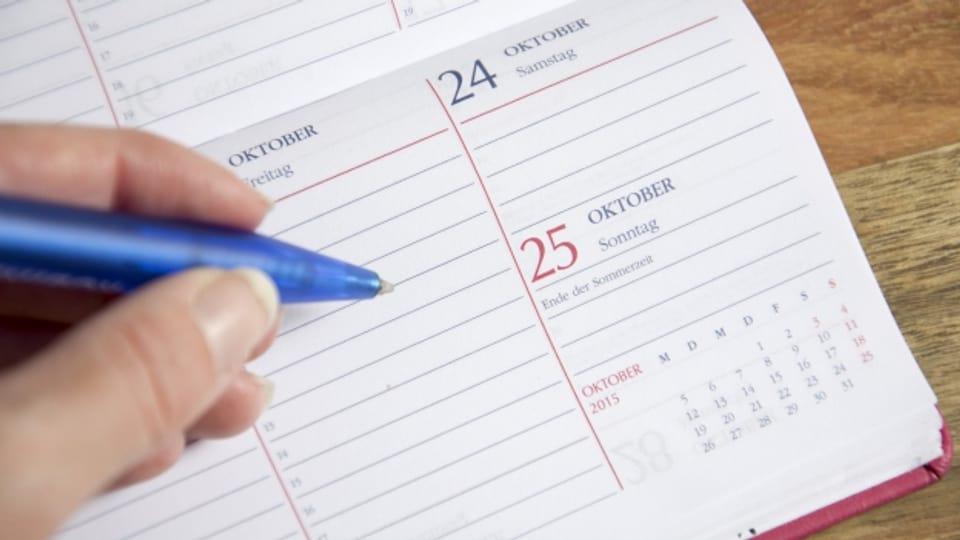 Jahresplanung: Hoffentlich nicht schon alles verplant!