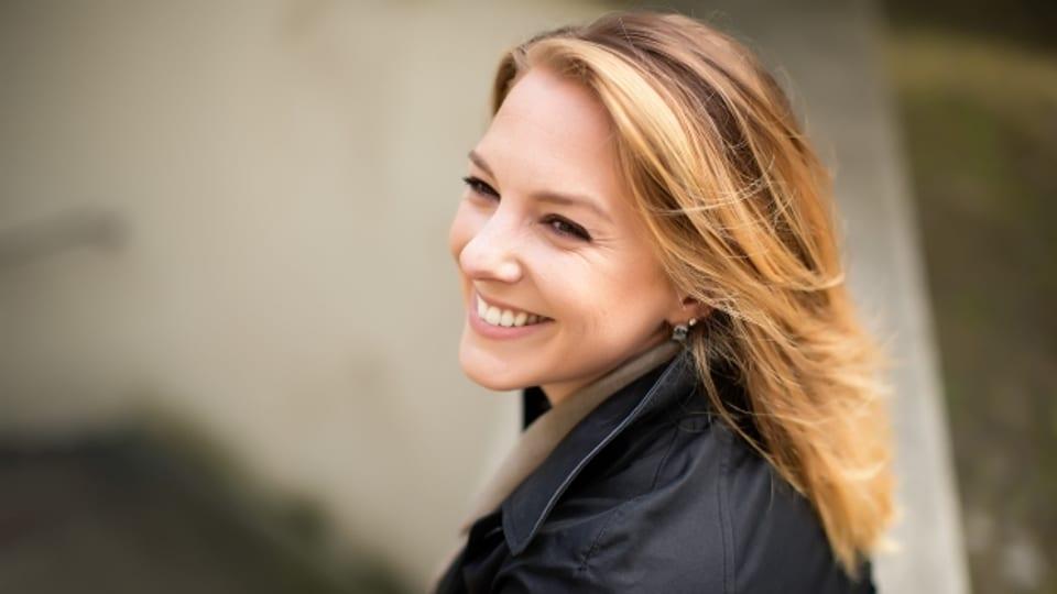Catherine Ackermann begegnet der Angst heute mit einem Lächeln