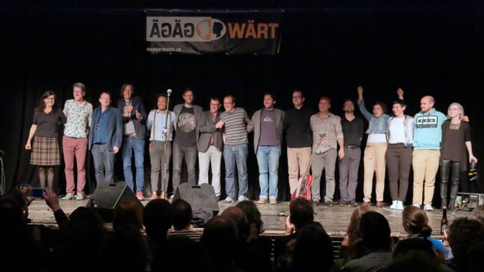 gägäWärt Mundartnacht 2017