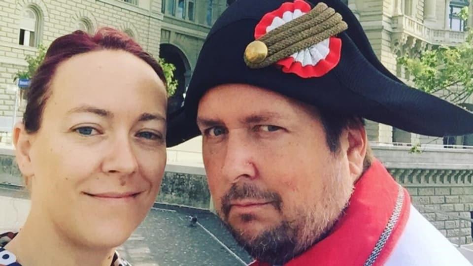 Lisa Catena und Weibel Matto Kämpf