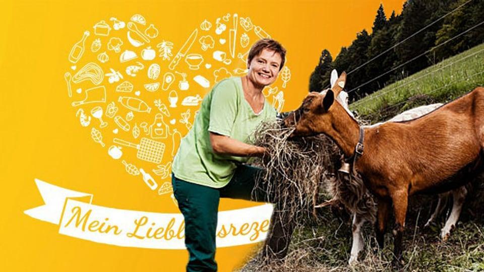 SRF-Landfrau Brigitte Wegmüller verrät bei «À point» ihr Lieblingsrezept: Emmentaler Rahmschnitzel.