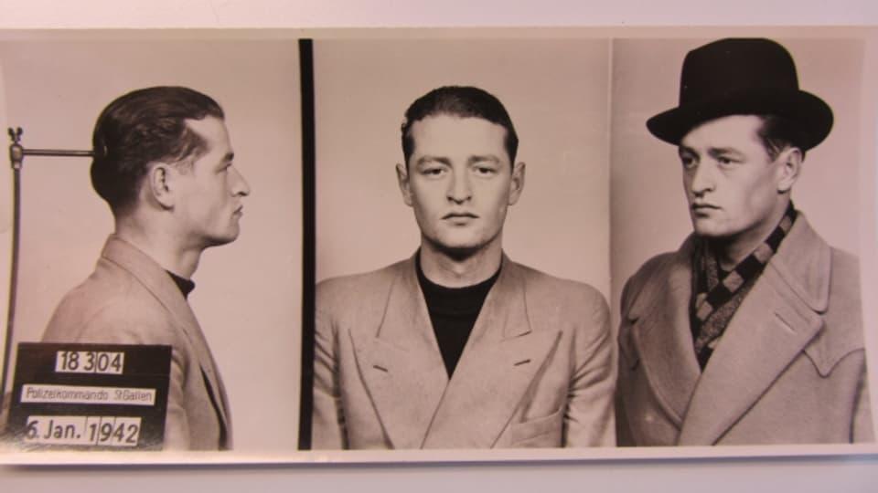 Im Januar 1942 wurde Ernst S. von der Polizei verhaftet.