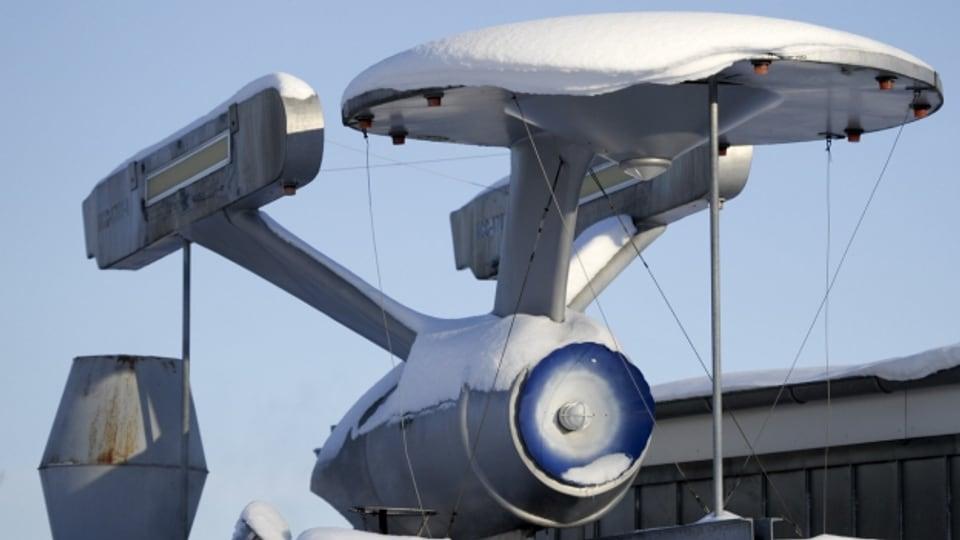 Im Winter mit dem Raumschiff Enterprise zur Arbeit, das wäre toll!