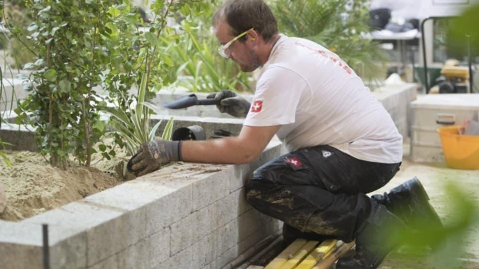 An den Swiss Skills in Bern messen sich Teilnehmer in 75 Berufen.