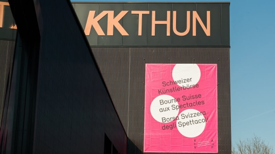 Die Schweizer Künstlerbörse findet jährlich im Frühjahr im Kultur- und Kongresszentrum KKThun statt
