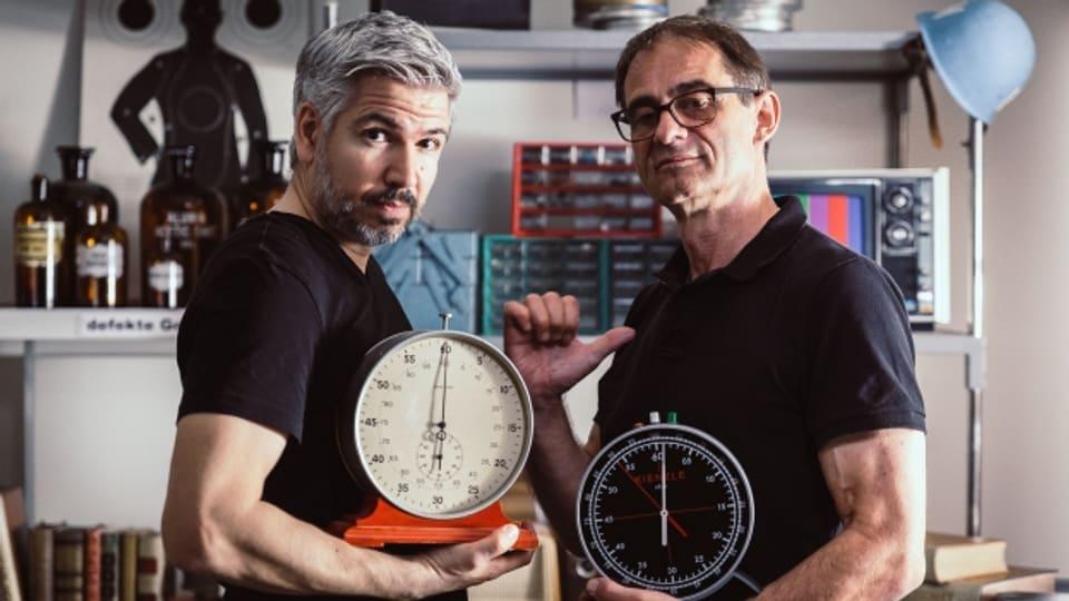 Das Trick 77 Team - Krispin Zimmermann und Thomy Scherrer.