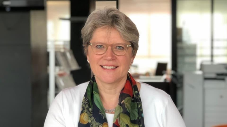 Pfarrerin Rita Famos leitet die Spezialseelsorge der reformierten Landeskirche Kanton Zürich.