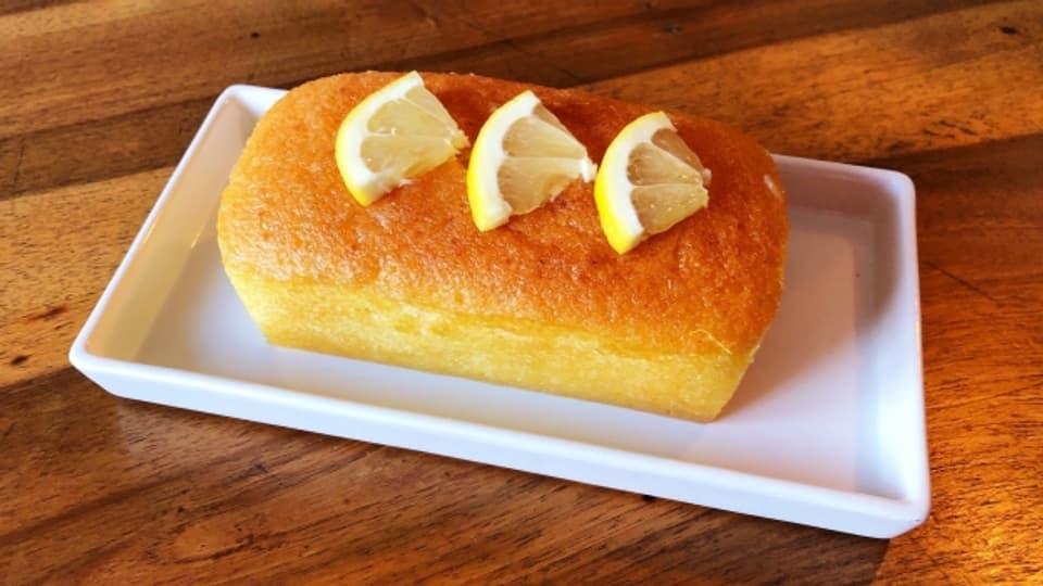 Extra für Singles gedacht; kleiner selbstgemachter Zitronencake.