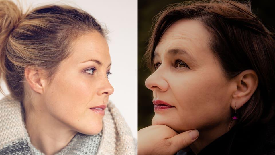 Neue Musik von Vera Kaa (rechts) und Jaël (links im Bild)