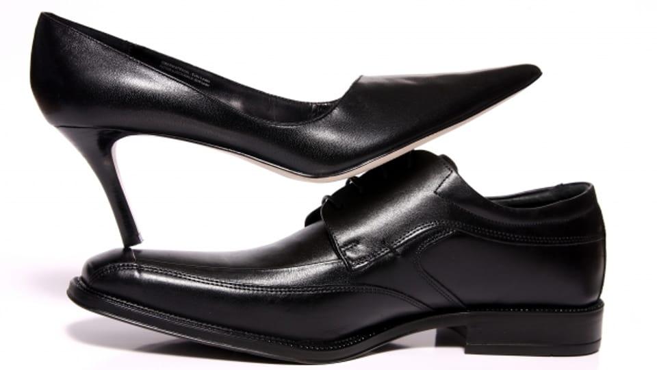Mit Wärme und Nässe werden Schuhe aus echtem Leder (noch) bequemer.
