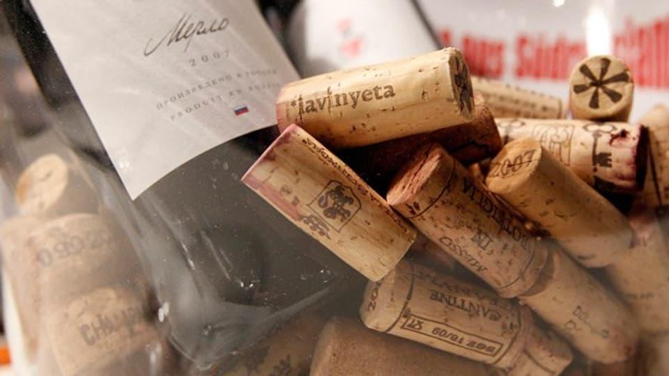 Fehlerhafte Korkzapfen können einen Wein verderben.