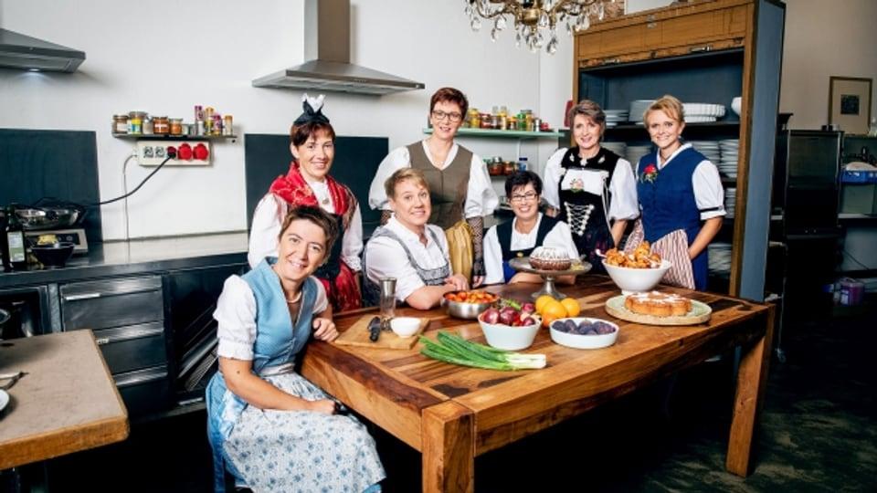 Jetzt ist es wieder so weit: Die Landfrauen aus der 13. Staffel der «Landfrauenküche» zeigen ihr Können am Herd.