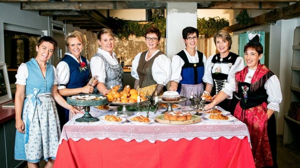 Wer wird Landfrau 2019? - Die Landfrauen der 13. Staffel der «Landfrauenküche» vom Schweizer Fernsehen.