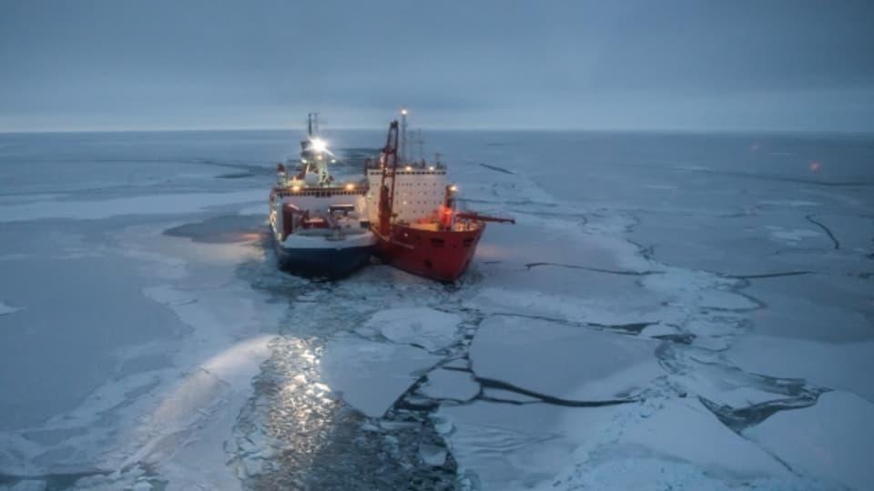 Viel Geld für die Klimaforschung. Die Mosaic-Expedition kostet rund 140 Millionen Franken.