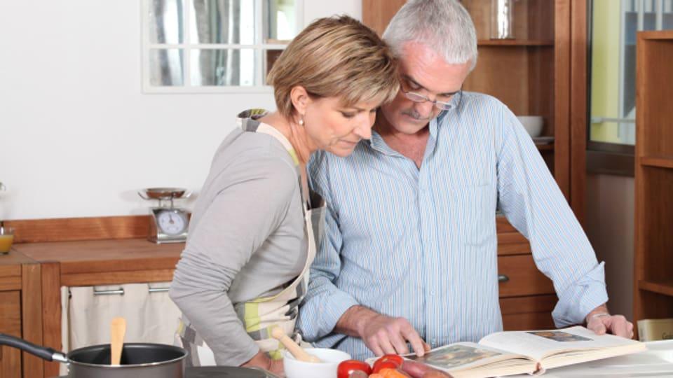Keiner ist zu alt ein Meisterkoch zu werden.