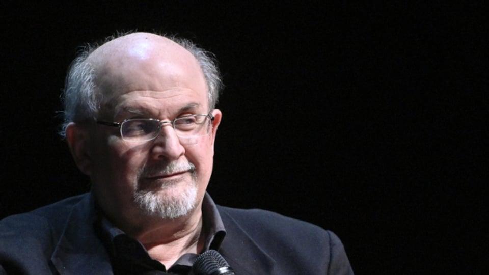 Der Autor Salman Rushdie