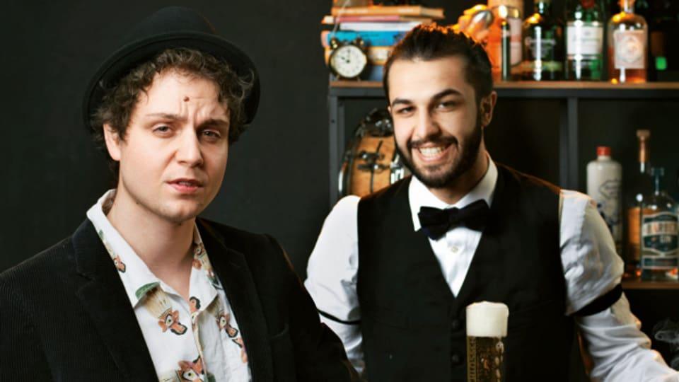 Dominik Muheim und Sanjiv Channa