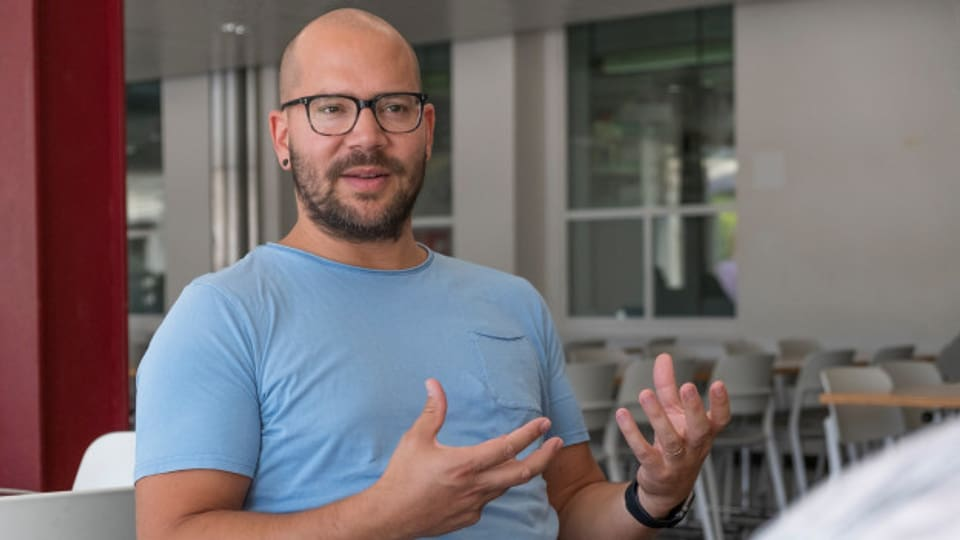 Sprachwissenschaftler Adrian Leemann