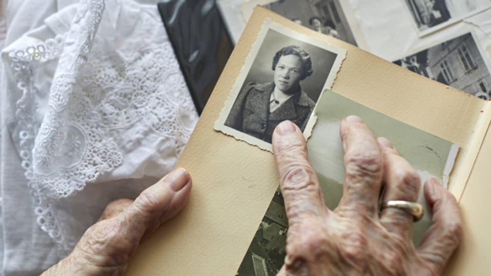 Anna Mühlemann (98) arbeitete 1945 als Kürschnerin in Zürich
