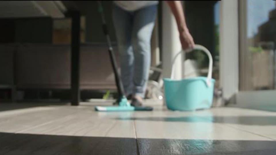 Putzen ist kein sauberer Job.