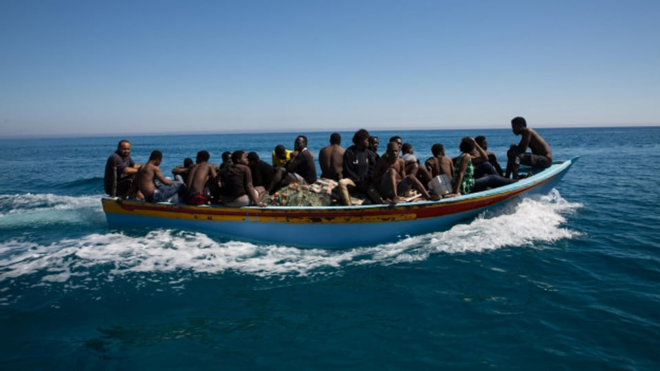 Afrikanische Flüchtlinge nehmen für eine bessere Zukunft viel Risiko auf sich.