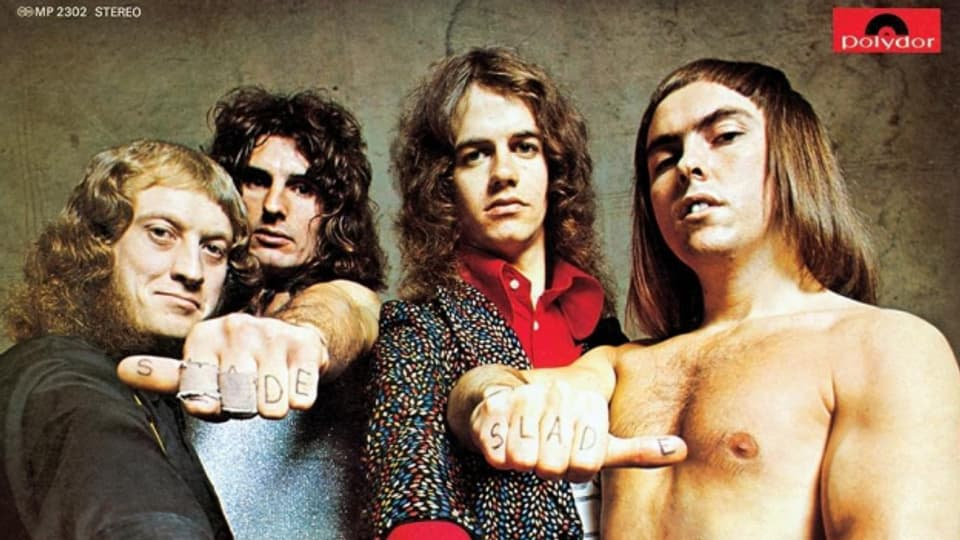 Slade: Eine der erfolgreichsten britischen Bands der 1970er Jahre.